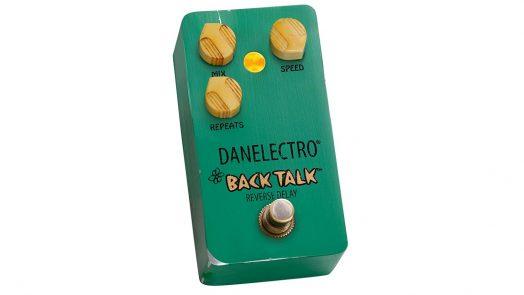Danelectro relaunch the legendary Back Talk Reverse Delay Pedal