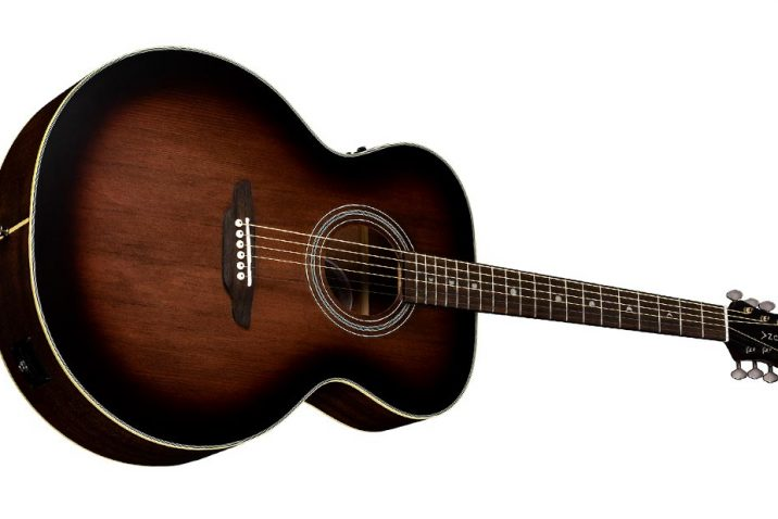 Luna Guitars Art Vintage Jumbo Acoustic-Electric