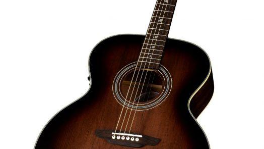 Luna Guitars Art Vintage Jumbo Acoustic-Electric