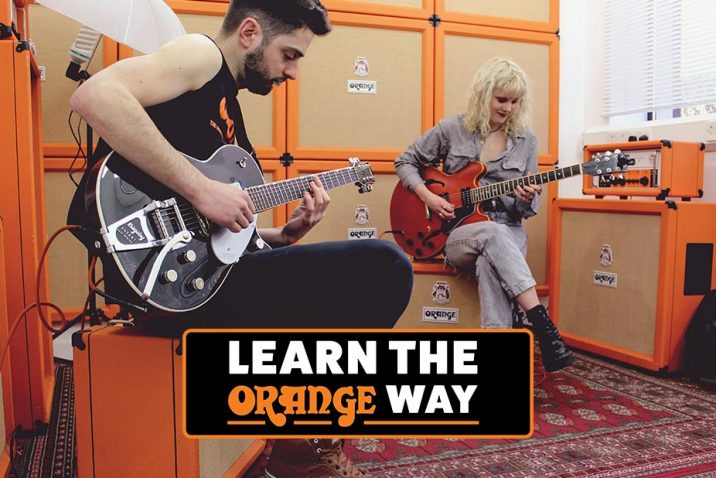 Special Offer From Orange Amps - Free Online Rock Guitar Course & Exam