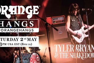 Tyler Bryant, Andy Powell, Charlie Robbins, David Hurrell & Ryan Bruce Join Orange Amps Instagram Hangs