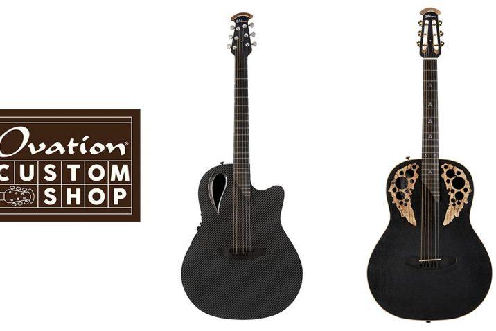 Ovation U.S.A. Custom Shop Releases Two New Adamas Guitars