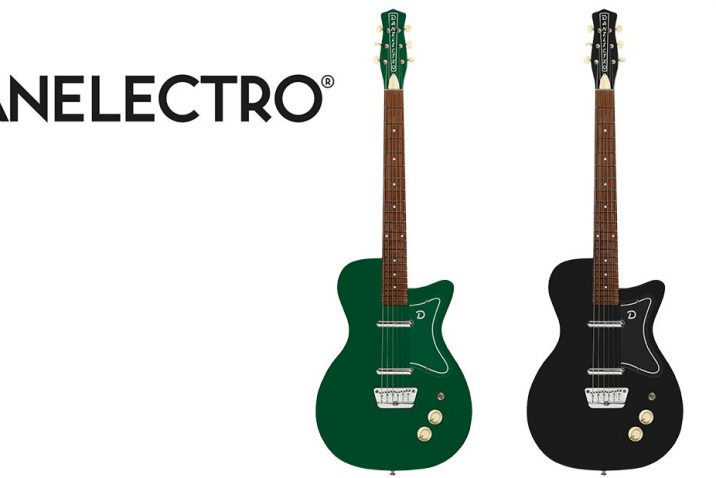 Danelectro '57 - Now available in Jade Green & Limo Black