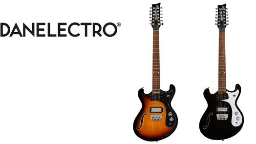 Danelectro launch Reissue '66-12 electric 12 string guitars
