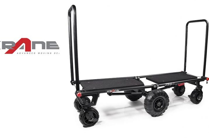 Krane Offers Advanced Utility Carts For Creatives