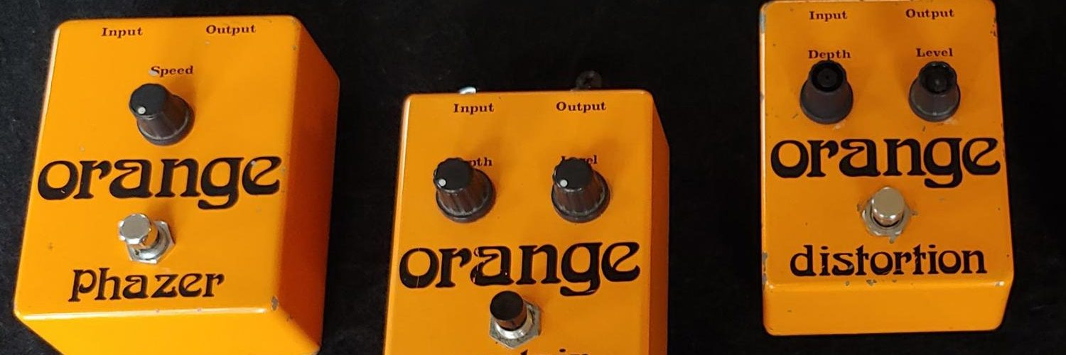Help Orange Amps Find Rare 1970s Effect Pedals