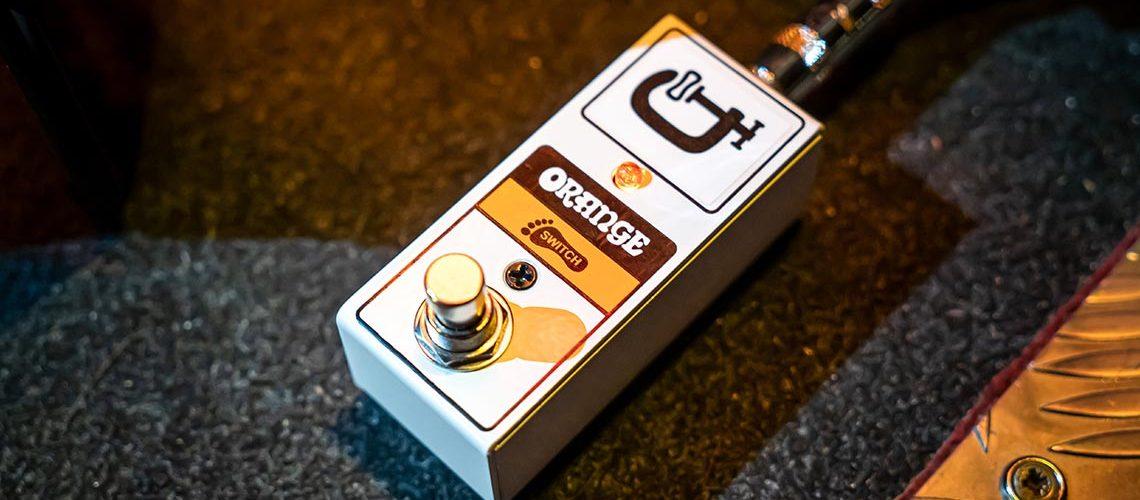 Orange Amps Launch FS1 Mini Footswitch