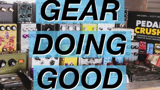 The League of Noise Builders Announces Gear Doing Good