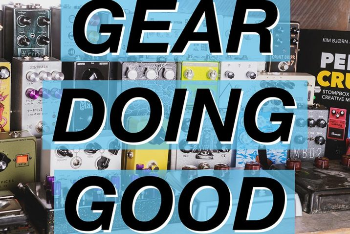 The League of Noise Builders Announces Gear Doing Good