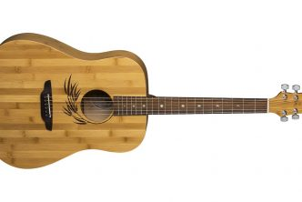 Luna Guitars Woodland Bamboo Dreadnought