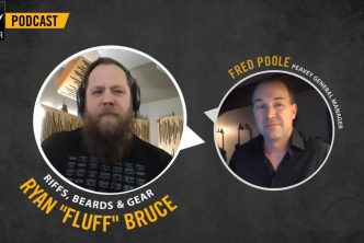 Ryan 'Fluff' Bruce Gets Nostalgic in New 'Peavey Monitor' Podcast Episode