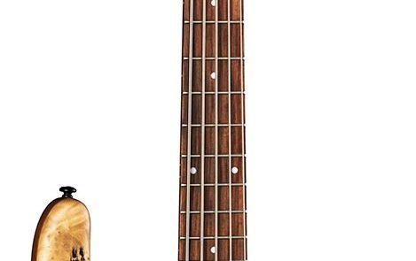 Dean Edge Select Burled Poplar Satin Natural bass guitar
