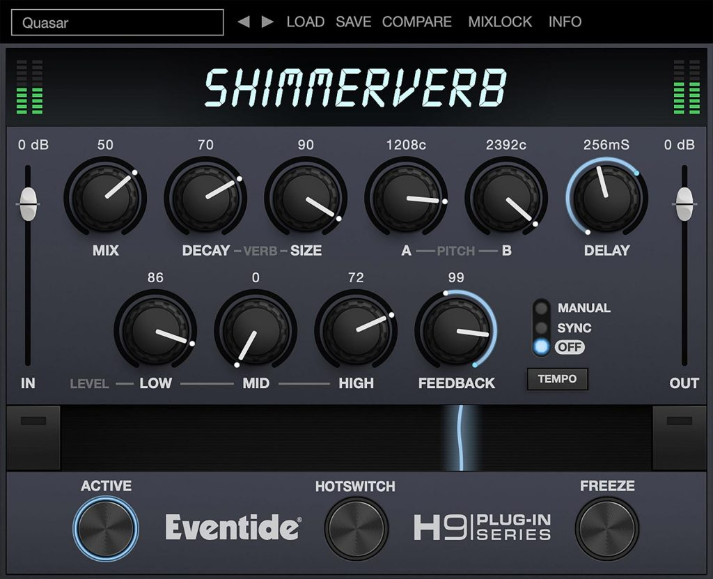 Eventide ShimmerVerb Reverb Plug-In