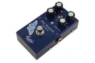 Fredric Effects announces the Blue Monarch overdrive