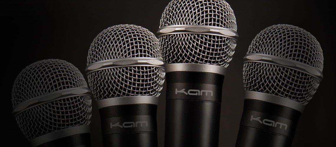 Kam Quartet Eco multi-channel UHF wireless microphone system
