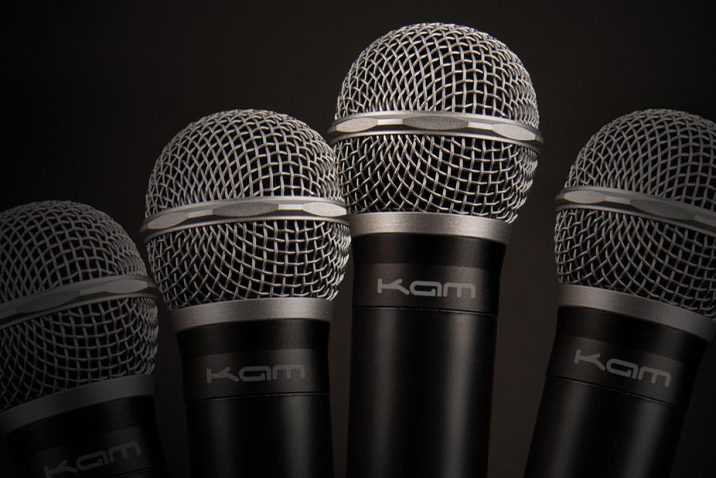 Kam Quartet Eco multi-channel UHF wireless microphone system