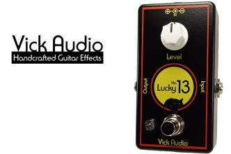 Vick Audio announces the re-issue of the Lucky No. 13