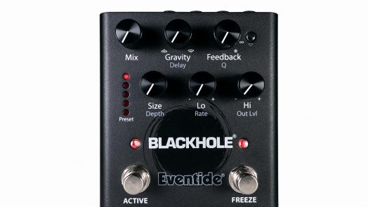 Eventide's new Blackhole reverb pedal transports tone to an alternate dimension of ambience