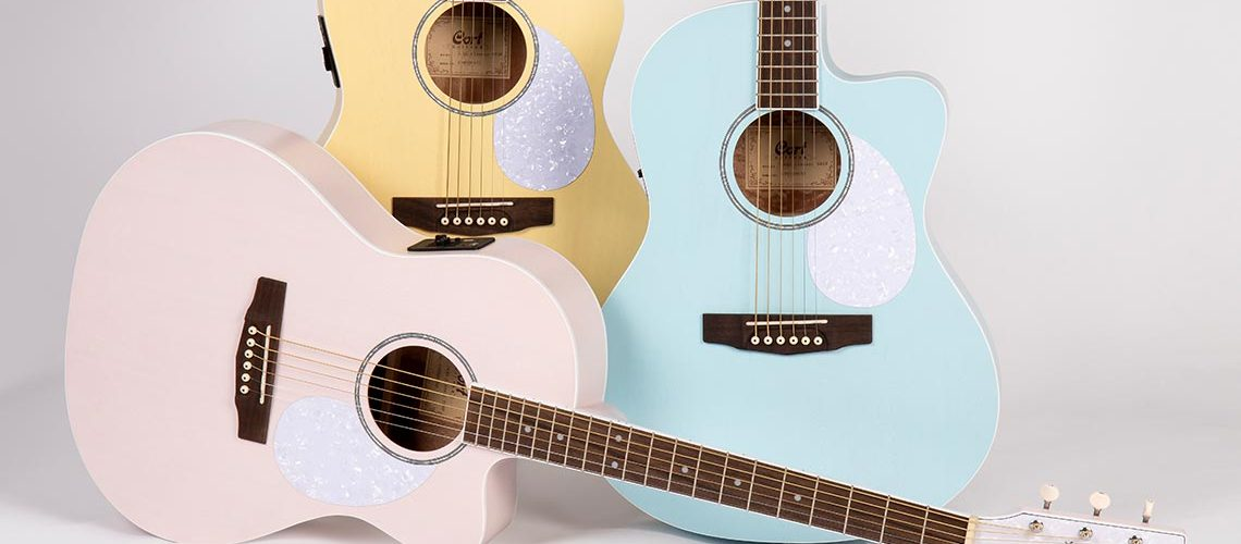 Cort's New JADE Classic Acoustic-Electric Guitars