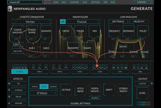 Eventide Generate - Chaotic Oscillator Polysynth by Newfangled Audio