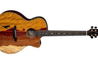 Luna Guitars Vista Eagle Tropical Wood acoustic-electric guitar