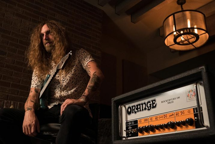 Nick Johnston Becomes Latest Orange Amps Ambassador