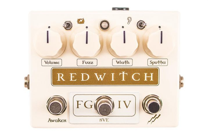 The new Fuzz God IV from Red Witch