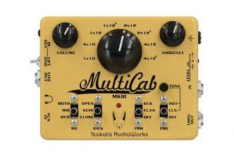 Tsakalis AudioWorks MultiCab MK3 cabinet simulation & preamp