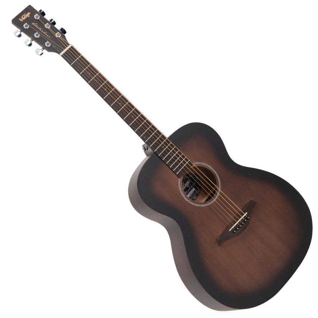 Vintage Left Hand Statesboro' Orchestra Acoustic Guitar