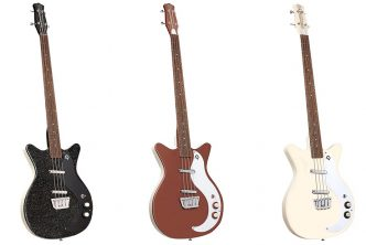Danelectro '59DC short-scale basses released