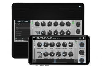 Eventide TriceraChorus for Desktop and Mobile