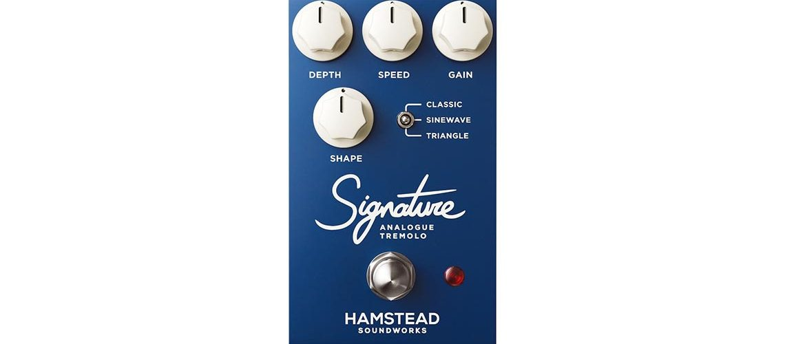 Hamstead updated Signature Analogue Tremolo Pedal