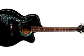 Luna Guitars introduces the Fauna Phoenix Acoustic-Electric Black