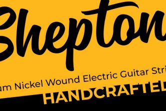 Sheptone Handcrafted Premium Nickel Wound Electric Guitar Strings
