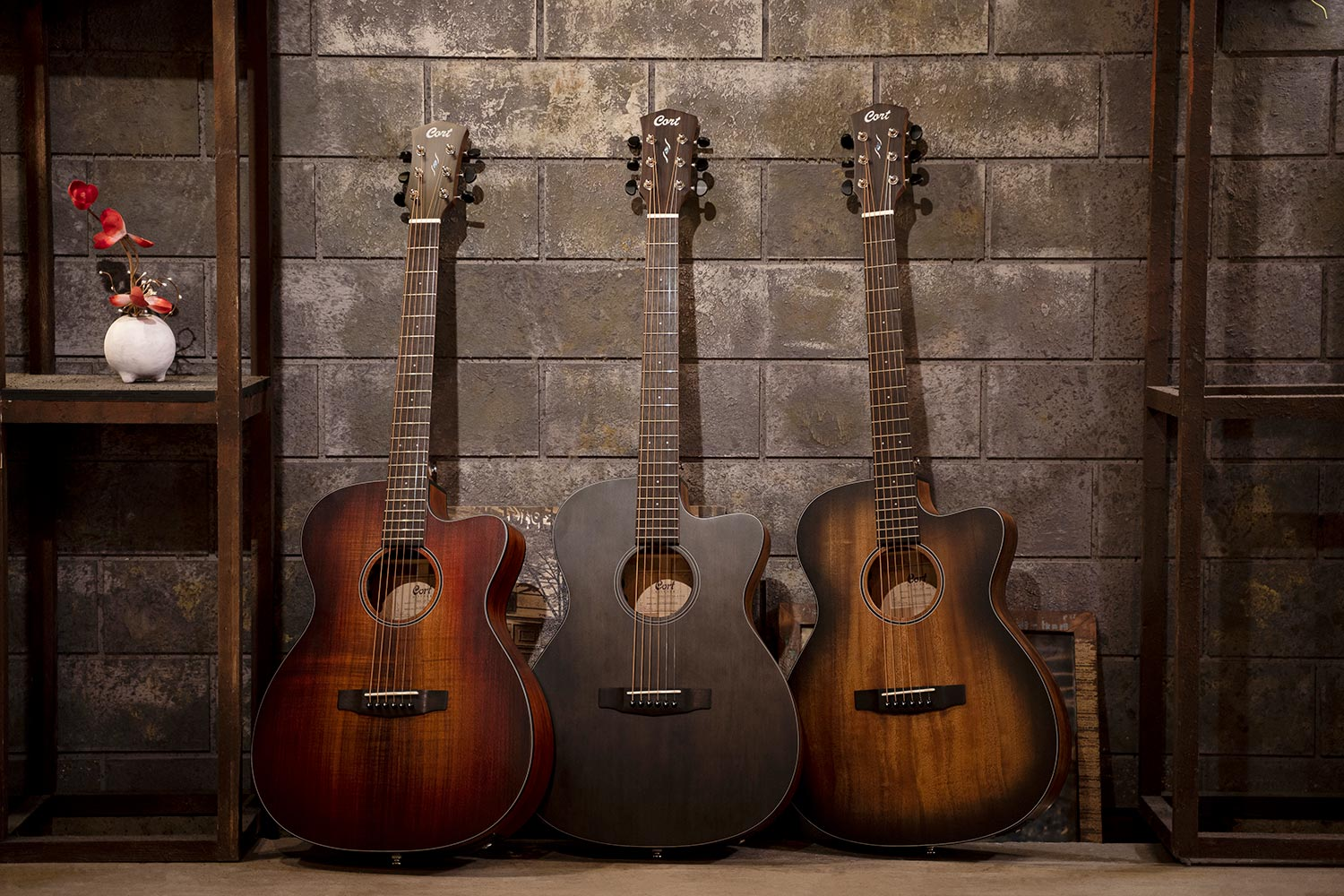 Cort Core Oc Collection All Solid Acoustic Guitars