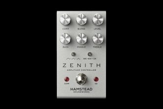 Hamstead Zenith Eq, Boost and Compressor Pedal