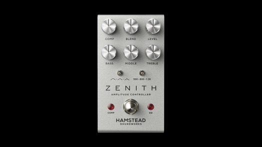 Hamstead Zenith Eq, Boost and Compressor Pedal