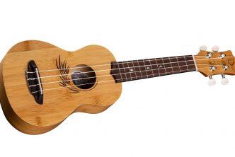Luna Guitars Sustainable Bamboo Soprano Ukulele