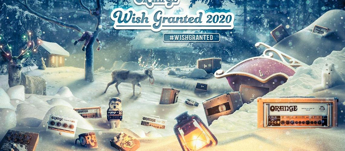 Orange Amplification 2020 #wishgranted Giveaway