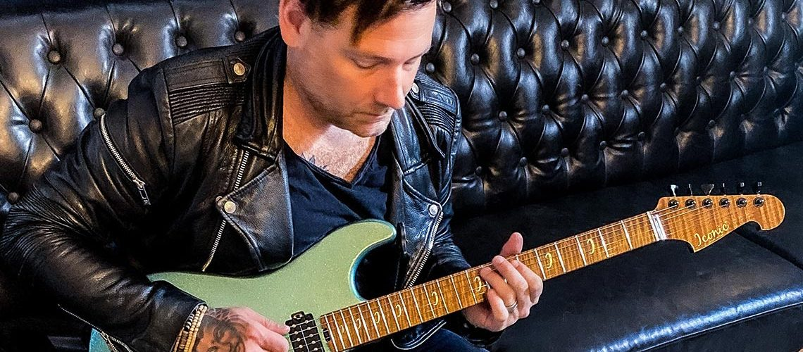 Sheptone Now Endorsed by Multi-Platinum Guitarist and Producer 'Mike K' Krompass