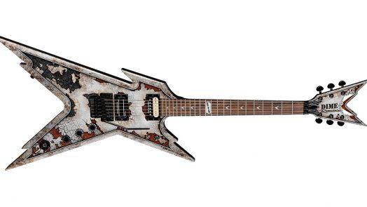 Dean Dime Razorback Rust electric guitar