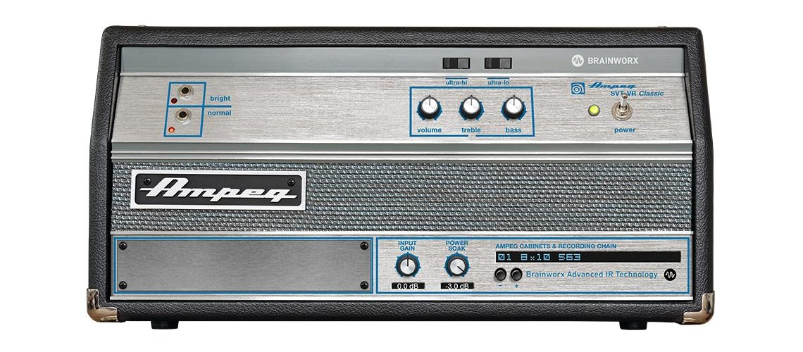 Plugin Alliance Ampeg SVT-VR Classic authentic bass tone