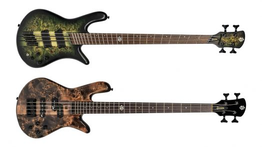 Spector Introduces Thrilling New Basses