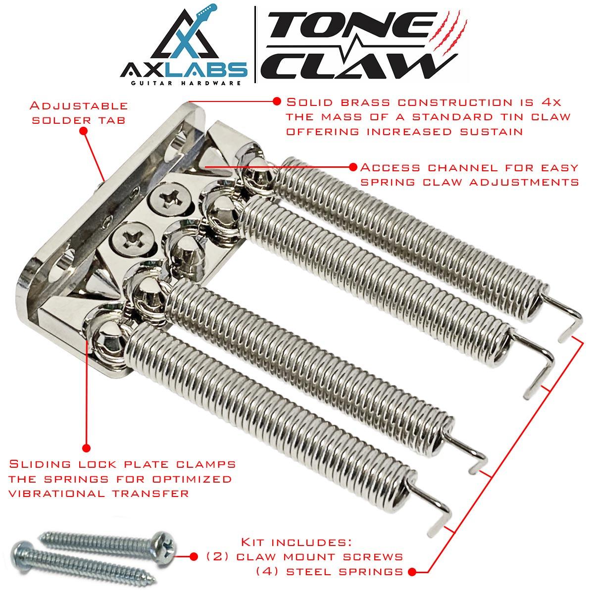 AxLabs Tone Claw Locking Spring Claw