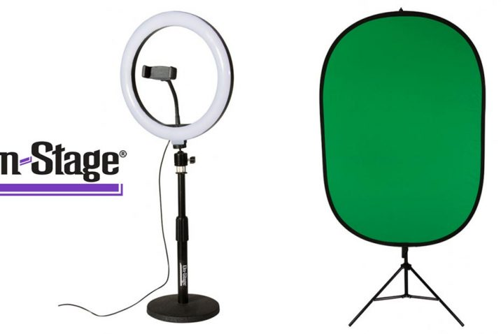 On-Stage introduce products specifically aimed at vloggers, podcasters and YouTubers
