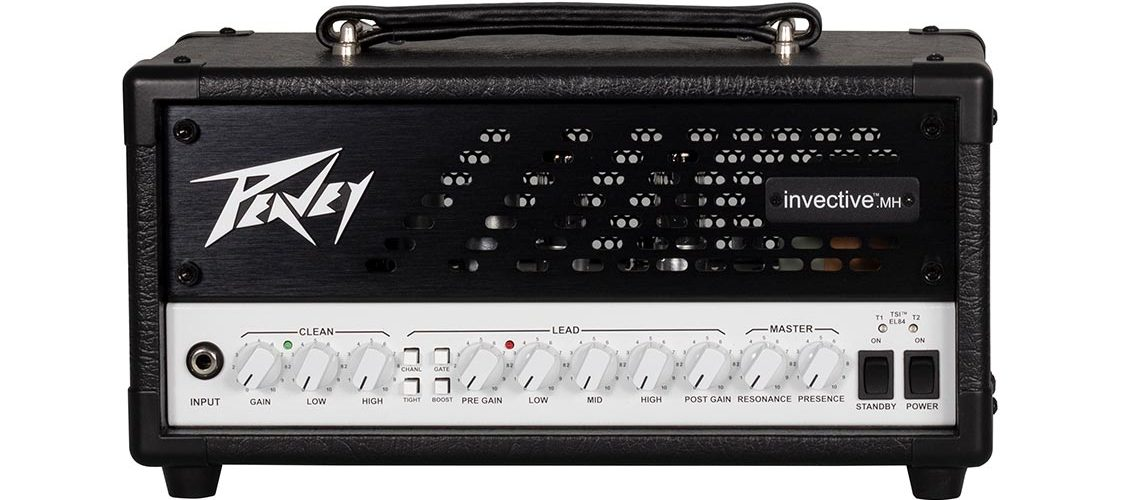 Peavey and Misha Mansoor Introduce mini invective Head