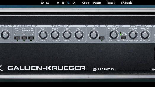 Plugin Alliance Gallien Krueger 800RB