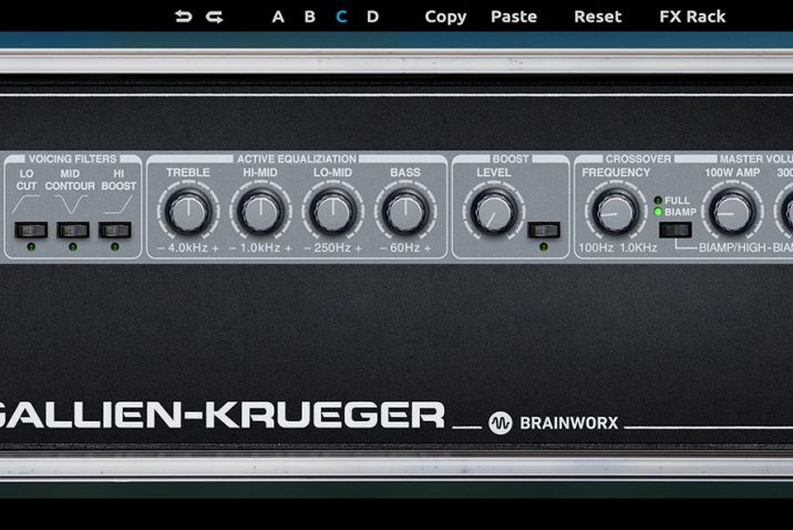 Plugin Alliance Gallien Krueger 800RB