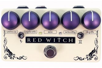 Introducing the new Binary Star pedal from Red Witch
