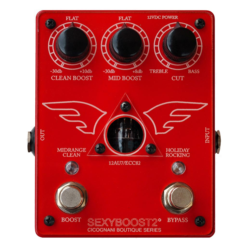 Cicognani Engineering SexyBoost2 dual channel tube booster